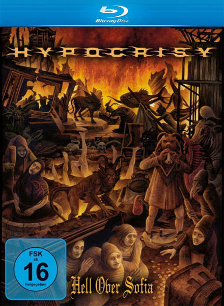 Hypocrisy - Hell Over Sofia / 20 Years Of Chaos And Confusion (2011/HDRip)