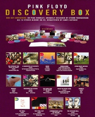 Pink Floyd-Discovery (16 CD Box Set EMI Remastered) (2011)