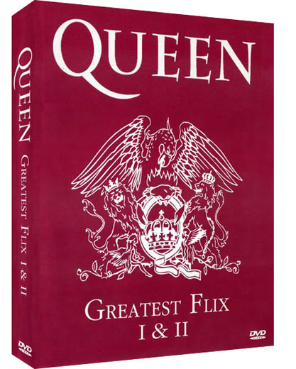 Queen — Greatest Flix 1 & 2 (1991) DVD9