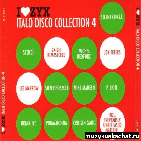 Скачать: VA - I Love ZYX Italo Disco Collection (2002-2011) AAC бесплатно