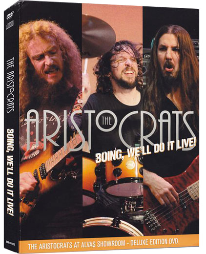 The Aristocrats – Boing, We'll Do It Live! [Deluxe Edition] (2012) DVD9